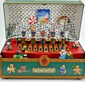 Vintage Santa's Musical Toy Chest